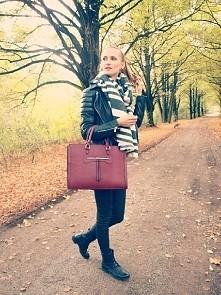 Jesienny outfit.