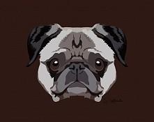 """Pies 4 Znajdziecie mnie na facebooku pod """"Wilczycas Art"""" Biore tez zamowienia. Poslijcie mi zdjecie swojego zwierzaka :)"""