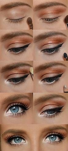 jesienny makijaż na co dzień krok po kroku :)