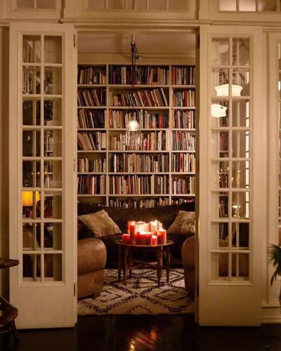 przytulna biblioteczka