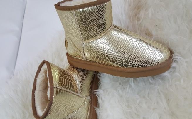 Buty ugg australia złote