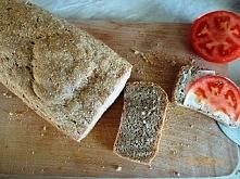 Mój pierwszy, samodzielny chleb :) Przepis na blogu...