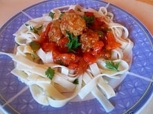 #smakjęzyka i sos pomidorowy czyli obiad z włoską nutą...