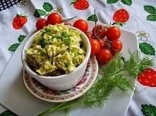 Pasta z brokuła z jajkiem i zieloną cebulką. Pasta brokułowa do pieczywa. Składniki  - 1 mały brokuł - 1-2 jajka - pęczek zielonej cebulki, lub szczypiorku - ząbek czosnku - sól...