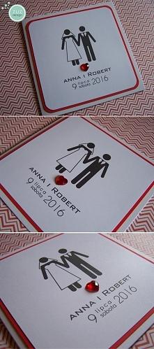 Zaproszenia ślubne. zuzdesign/facebook