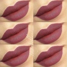 Typowy jesienny kolor ust! :)