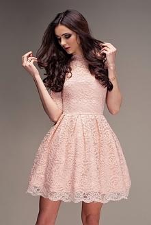 Poudette. Koronkowa sukienk...