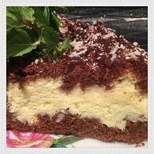 SERNIK Z KOKOSEM Ciasto: - 500 g mąki - 250 g masła - 3/4 szklanki cukru - 3 ...