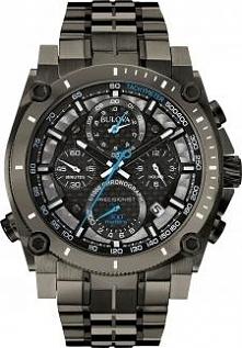 zegarek męski Bulova Precisionist o niezawodnym mechanizmie i wyjątkowej precyzji odmierzania czasu, z chronografem i krokomierzem