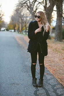 A Fall Jacket to Cozy up With