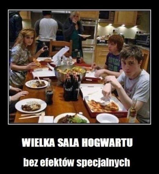 Wielka sala na harry potter for Sala pranzo harry potter