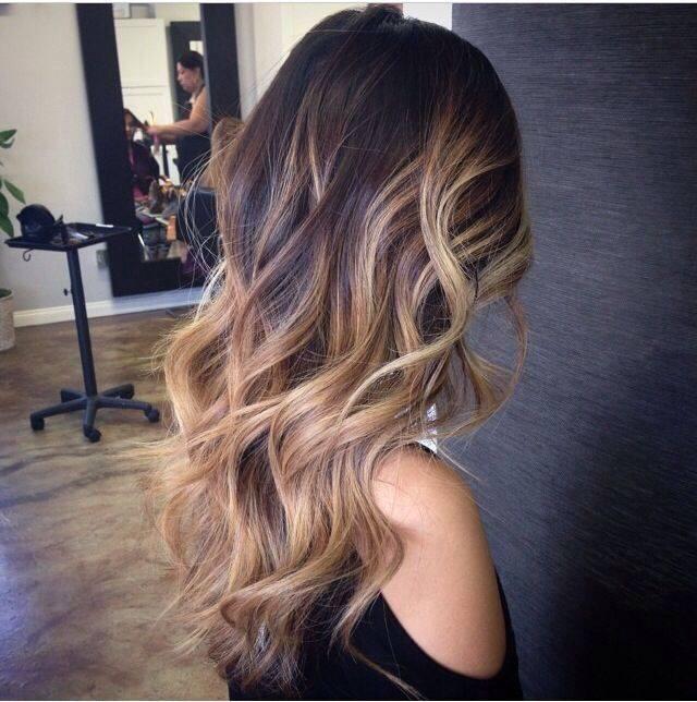 30 Fryzur Włosy Z Refleksami Ombre Sombre Bronde