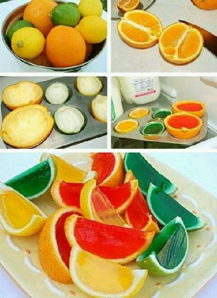 Galaretka w pomarańczach *.*