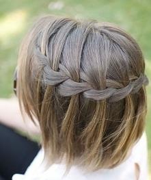 Warkocze z krótkich włosów, jak zrobić? >> instrukcja