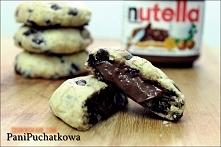 Prosty przepis , na przepyszne ciasteczka do zrobienia w 30 minut :)   Składn...
