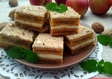 ciasto karmelowe z jabłkami Ciasto Marlenka tak nam ostatnio smakowało, że po...