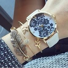 Zegarek z koronką - 20,99zł- klik w zdjecie