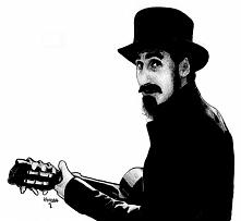 Serj Tankian, główny wokalista System of a Down.  Mam w zwyczaju uwieczniać w...