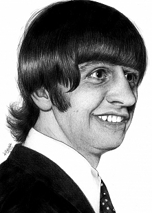 Ringo Starr. Głównie perkusista The Beatles, ale poza tym... jak tu go nie ko...