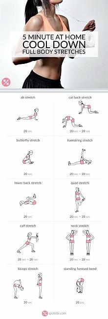 Ćwiczenia STRETCHING w domu ❤️  Podstawą treningów jest prawidłowe rozciąganie ciała, unikniesz w ten sposób kontuzji i rozgrzejesz mięśnie do intensywnych ćwiczeń :)  To też św...