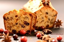 Keks - ciasto świąteczne z bakaliami
