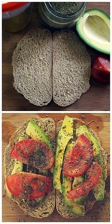 kanapka z awokado - moja metoda na goda