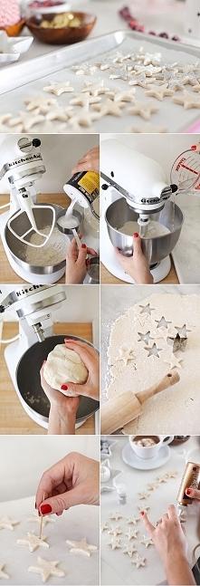 masa solna - 1 szklanka mąki, 1 szklanka soli, 1/2 szklanki wody letniej , do wymieszania można użyć robota kuchennego. Mnie masa solna bardzo wysusza ręce