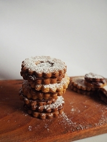 Kruche ciasteczka z Nutellą ♥
