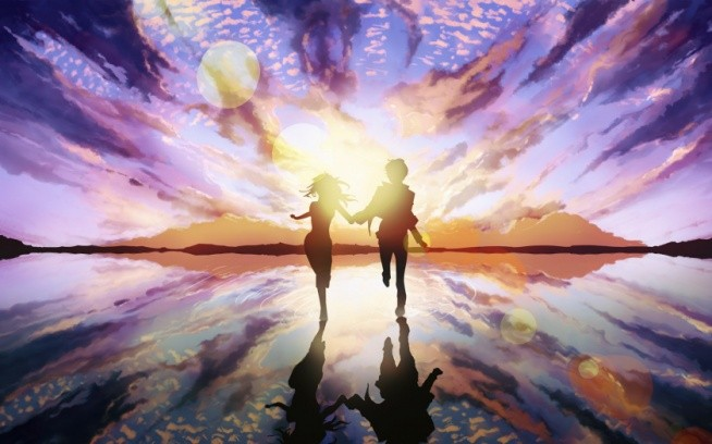 miłość to... podążanie w tym samym kierunku miłość to... patrzenie sobie w oczy bez przerwy miłość to... drugą osoba tak blisko a jednak zawsze za daleko miłość to... czekanie na kolejne spotkanie  miłość to... wiara i nadzieją miłość to... życie Nie przegraj go...