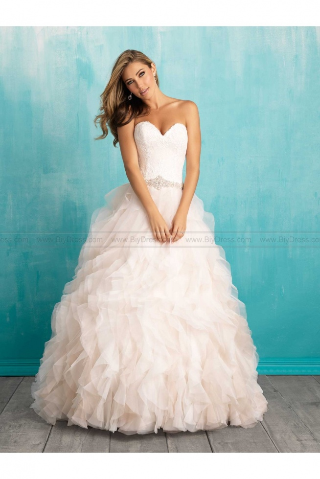 Cheap allure bridals wedding dress style 9308 at low for Cheap allure wedding dresses