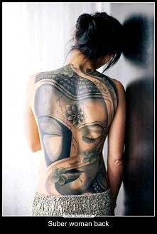 girl woman tattoo back