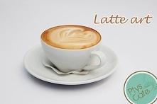 Jeden z naszych wzorów na Latte art :)