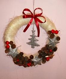 Bożonarodzeniowy wianek :)