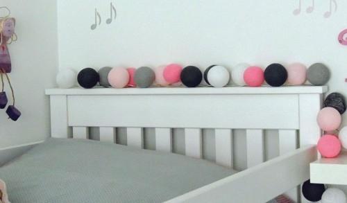 cotton balls do pokoju dziewczynki na bogatewnetrza.pl