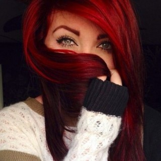 Modne Kolory Włosów Rude Burgundowe Czerwone Na Fryzury