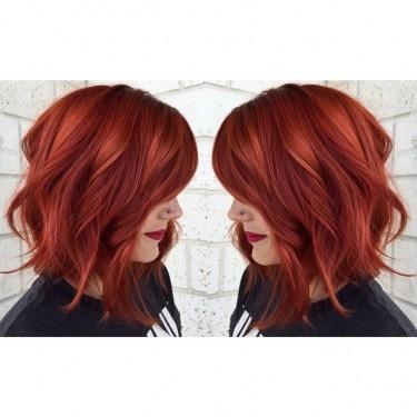 Rude Włosy Kolory Na Fryzury Zszywkapl