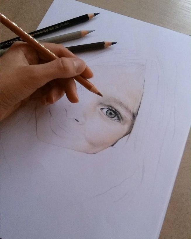 work in progress... Rysunki, portrety na zamówienie: karolinaburakowskaa@gmail.com :)