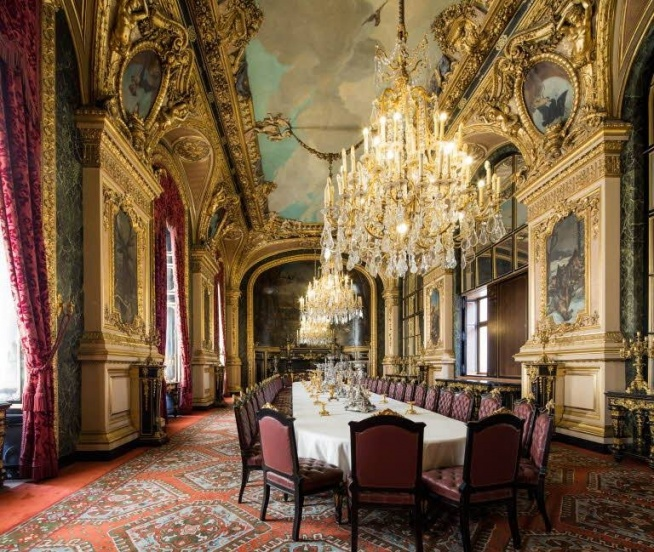 The Large Dining Room, Napoleon III Apartments, Richelieu