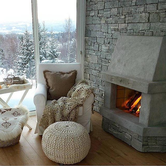 idealne miejsce na zimowe wieczory...