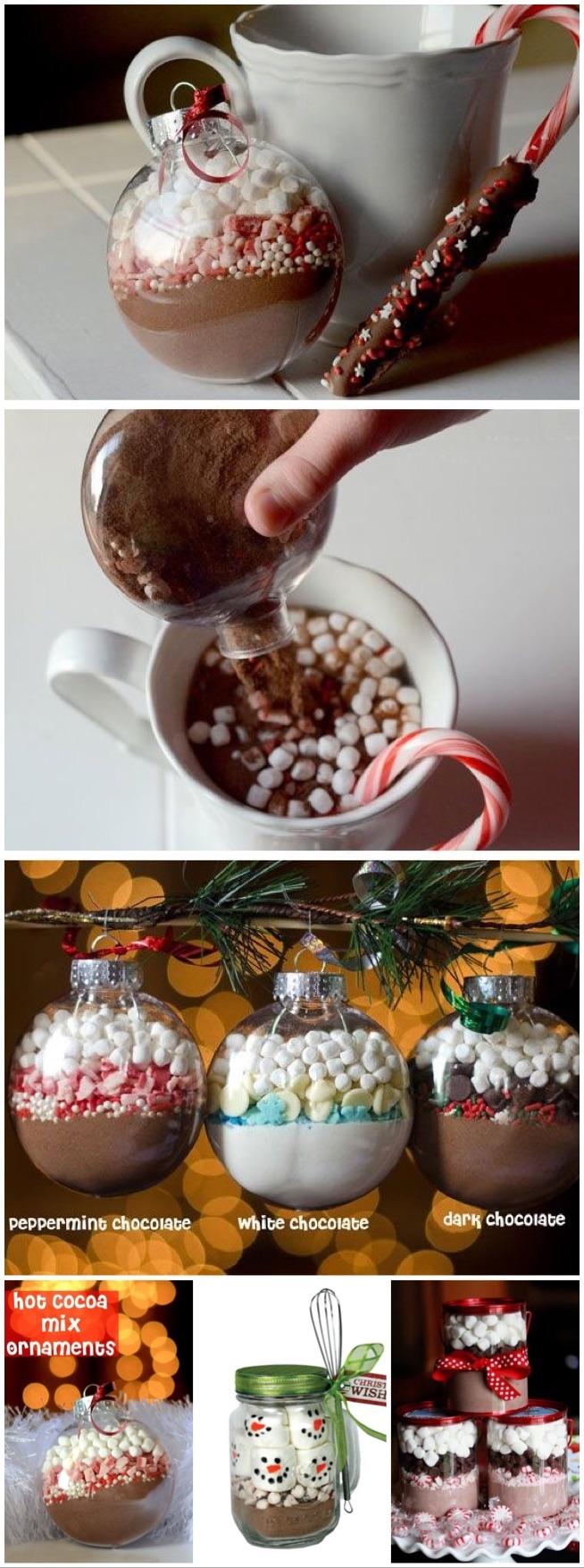 podstawa w swieta jest gorąca czekolada albo kakao