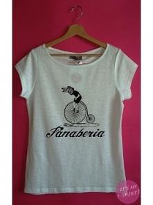 FANABERIA A może logo swojej firmy na t-shircie? ;] Sklep Fanaberia bardzo polubił ten pomysł ;]