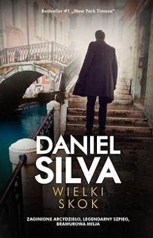 """Pierwszy raz sięgnęłam po książkę Daniela Silvy. Pierwszy, ale na pewno nie ostatni. Tytuł """"Wielki skok'' wydał mi się dość typowy dla książek akcji czy kryminałów. I może ani n..."""