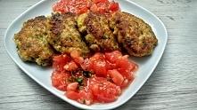Pyszne i zdrowe kotlety rybne z pomidorowo-miętową salsą. Zapraszam po przepis ;)