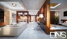 Nowoczesna elegancja na 110m2. Projekt zakładał maksymalizację przestrzeni ot...