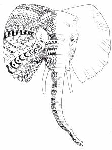 słoń by JK