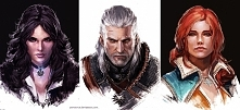 The Witcher portraits by Ya...