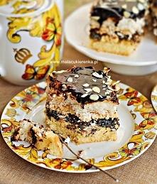 Ciasto makowe z kokosem i k...