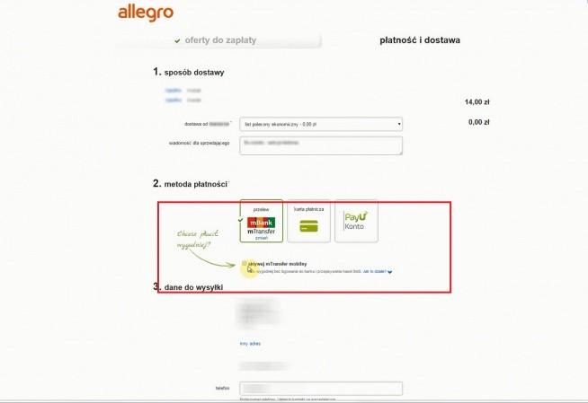Jak Zaplacic W 10 Sekund Na Allegro Z Mbankiem Wystarczy Raz Na Pomysly Zszywka Pl