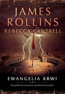 """Gotycka powieść o poszukiwaniu cudownej księgi znanej jako """"Ewangelia krwi"""". ..."""