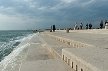 morskie organy, Zadar, Chorwacja